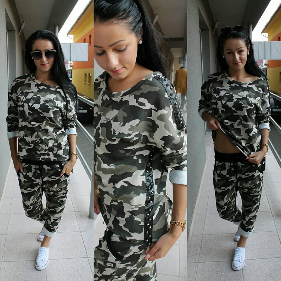 af027ac8f ARMY tričko s aplikaciou. | Meggie Fashion / Nadčasová móda www ...