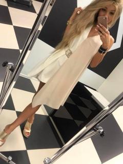83591e18b47f Asymetrické dvojfarebné šaty s opaskom Paparazzi fashion. empty